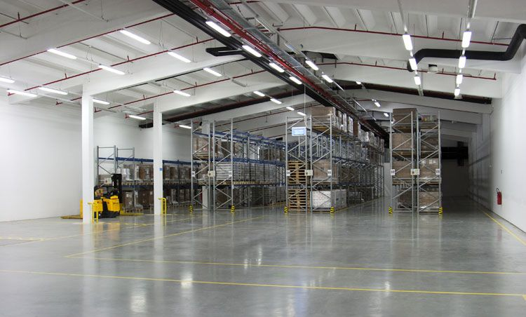 Full warehouse