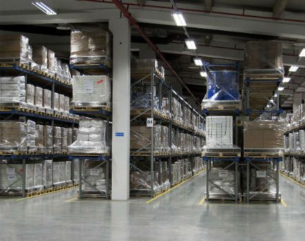 Modern business and warehousing facilities